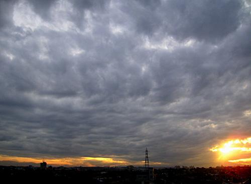 夕陽をキャッチ.jpg